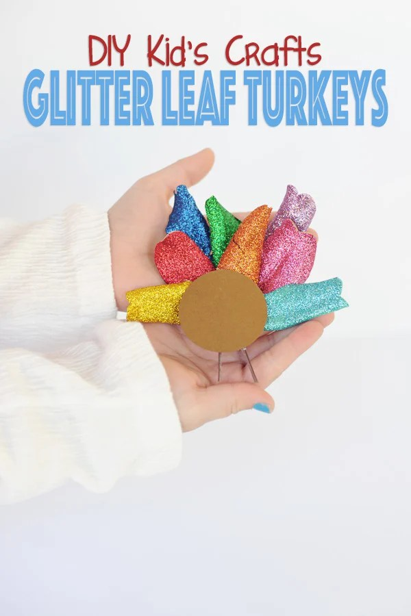 Diy turkey kids crafts