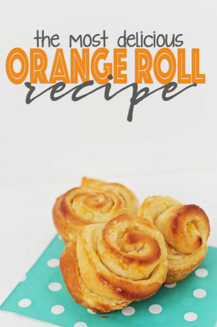 orange roll recipe