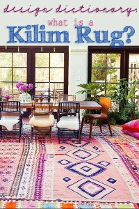 Design dictionary what is a kilim rug header copy