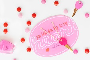 DIY Handmade Kid's Valentines : Key to My Heart