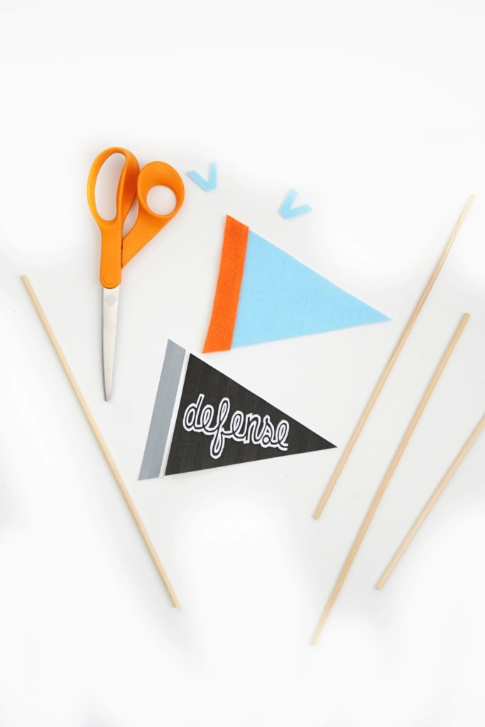 DIY Mini Felt Pennant Banner Tutorial 2