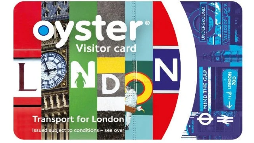 visitor oyster cards
