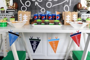 Super bowl party ideas header