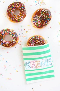 Cute Teacher Appreciation Week Kreme of the Crop Free Printables