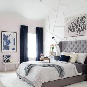 Pink master bedroom 3