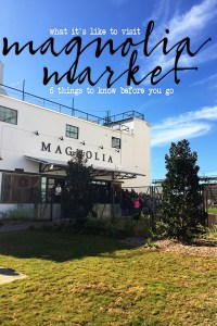Magnolia market and the silos fixer upper