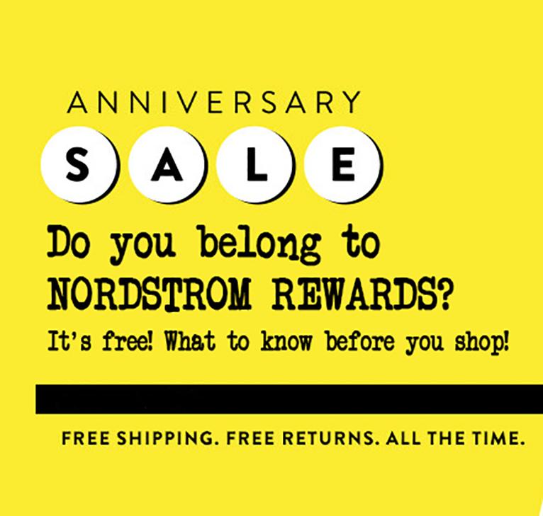 nordstrom rewards benefits nordstrom anniversary sale