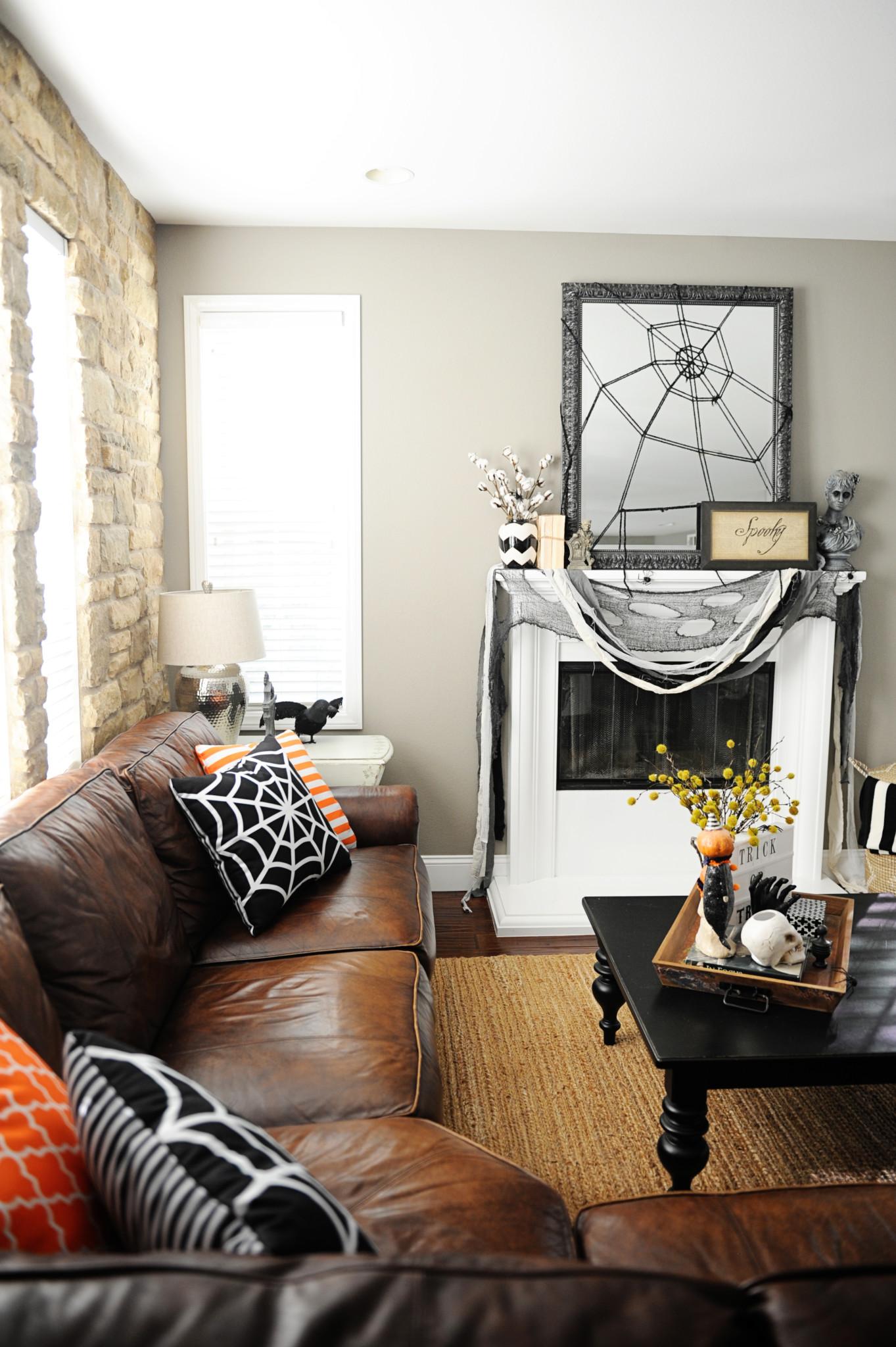 Halloween Home Tour Pink Peppermint Design
