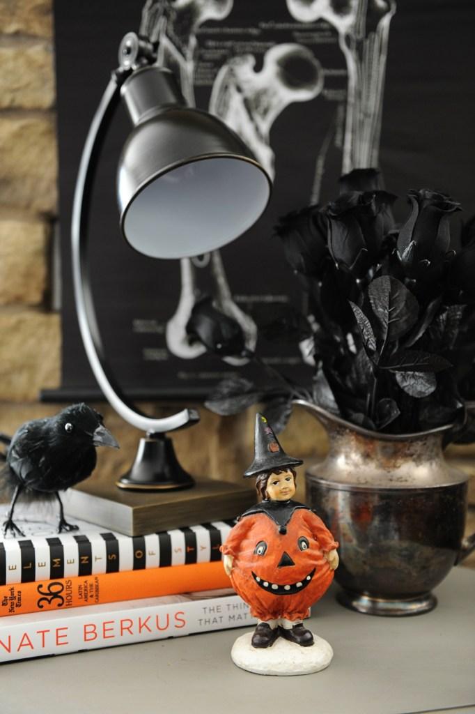 blogger halloween home tour