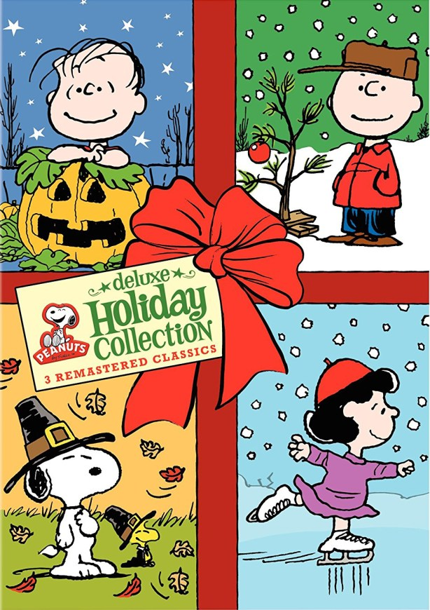 peanuts holiday collection dvds