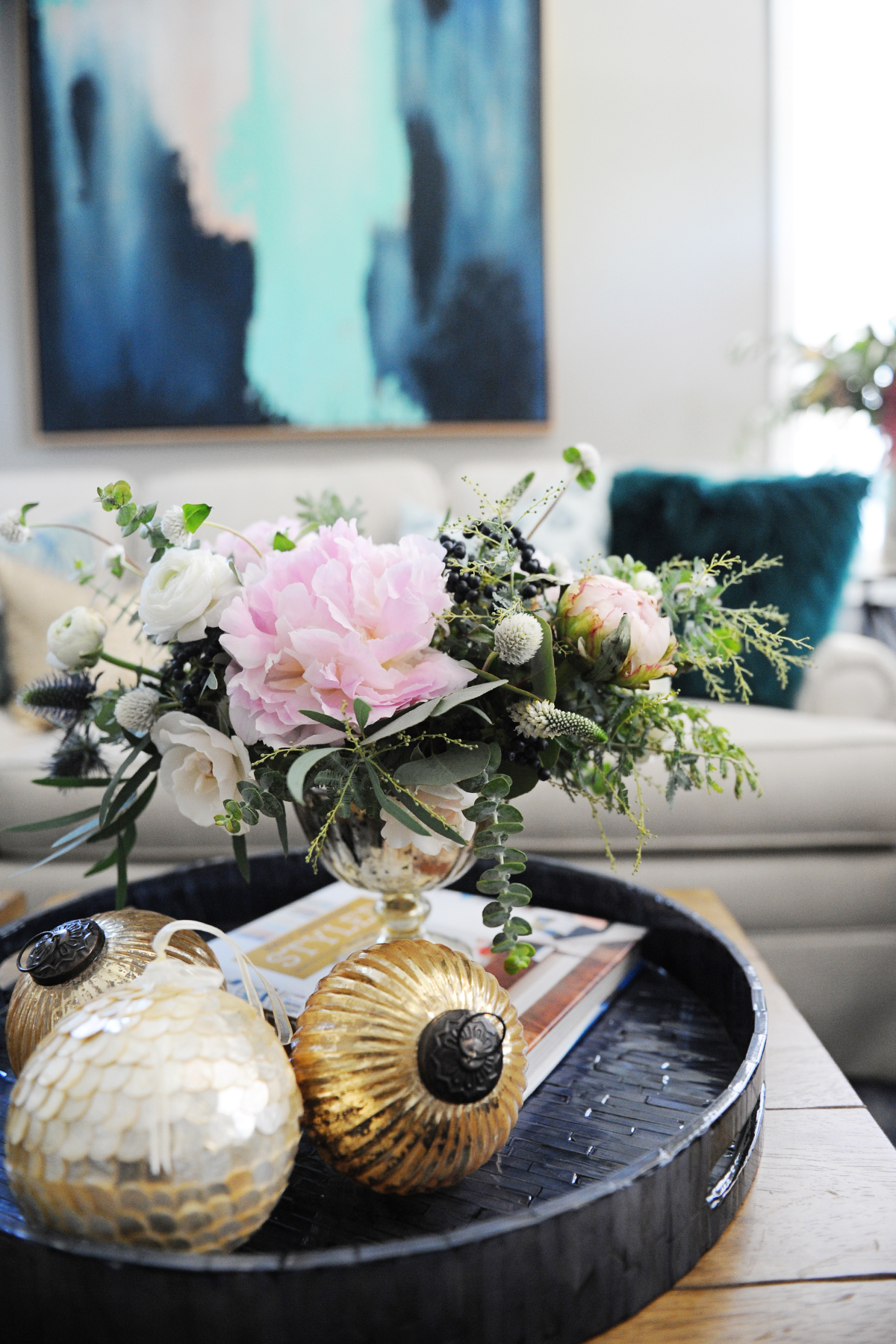 Our Christmas Home – Christmas Home Decor Inspiration Shoot