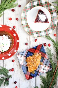 Easy Entertaining with Beautiful Plates and Semi-Homemade Christmas Desserts