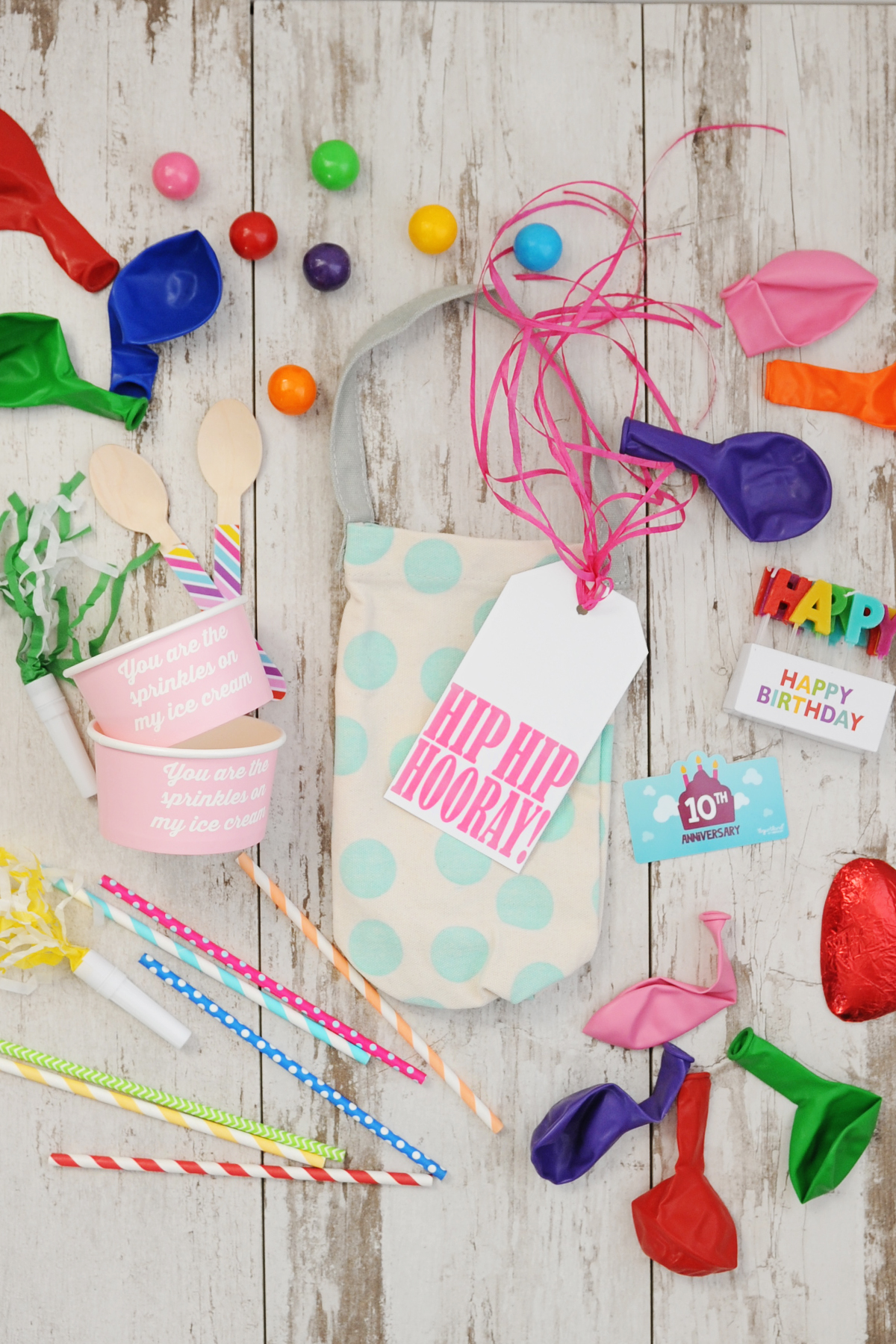 I Love This Easy Birthday In A Bag Its Such Cute DIY Gift That Can Be Made Few Minutes And Shipped Anywhere Without Costing Ton Because