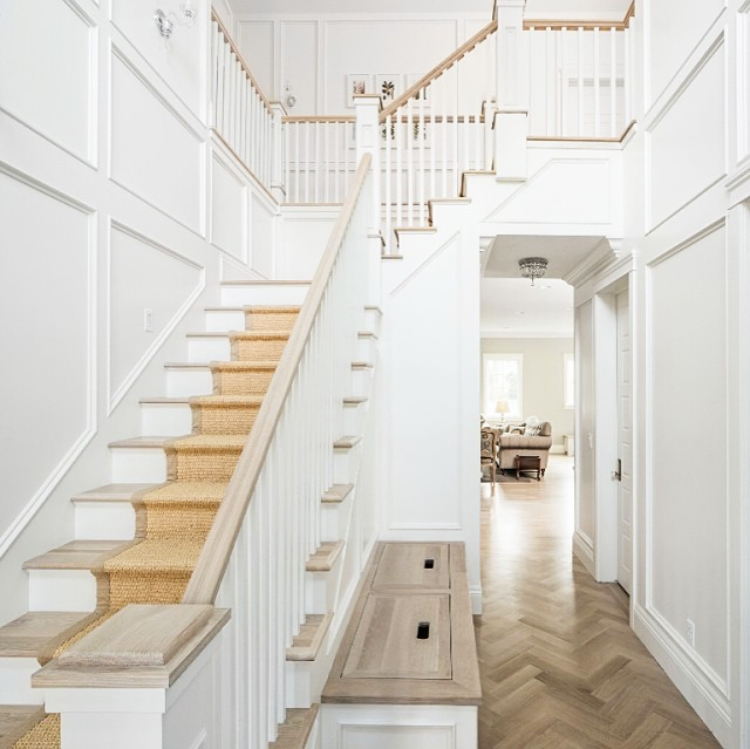 entry way woodwork