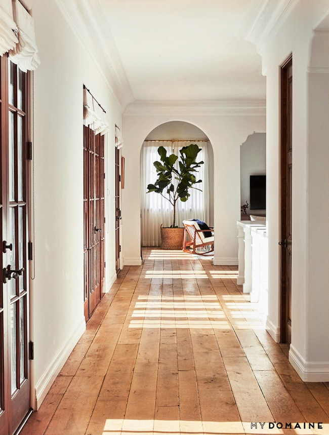 Lauren conrads home hallway