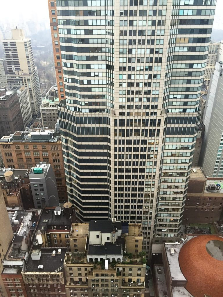 views from the rooms at the london hotel nyc