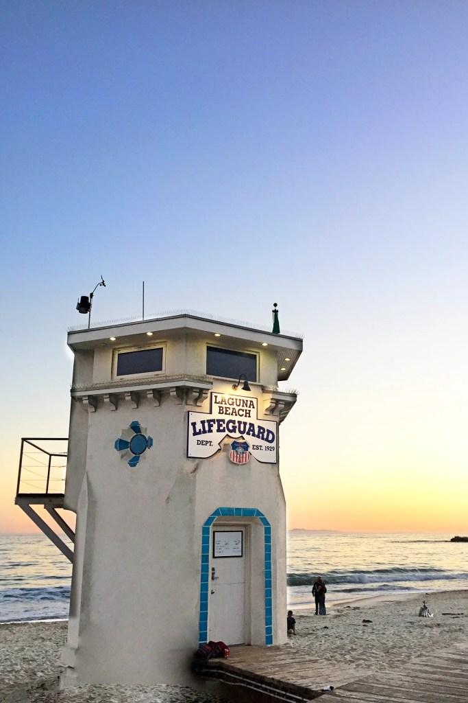 Laguna life guard tower 2