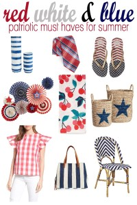 Patriotic must haves for summer