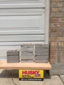 Choosing the Brick Color for the House