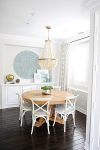 A Dramatic Dining Room Makeover