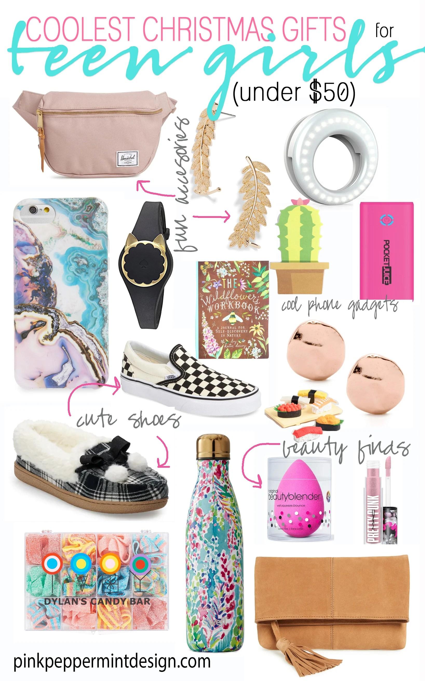 Coolest Christmas Gifts for Teen Girls  sc 1 st  Pink Peppermint Design & Teenage / Tween Girl Christmas List: Gift Ideas for Teen u0026 Tween Girls