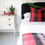 Christmas Bedroom Decor Ideas A Holiday Bedroom Pink