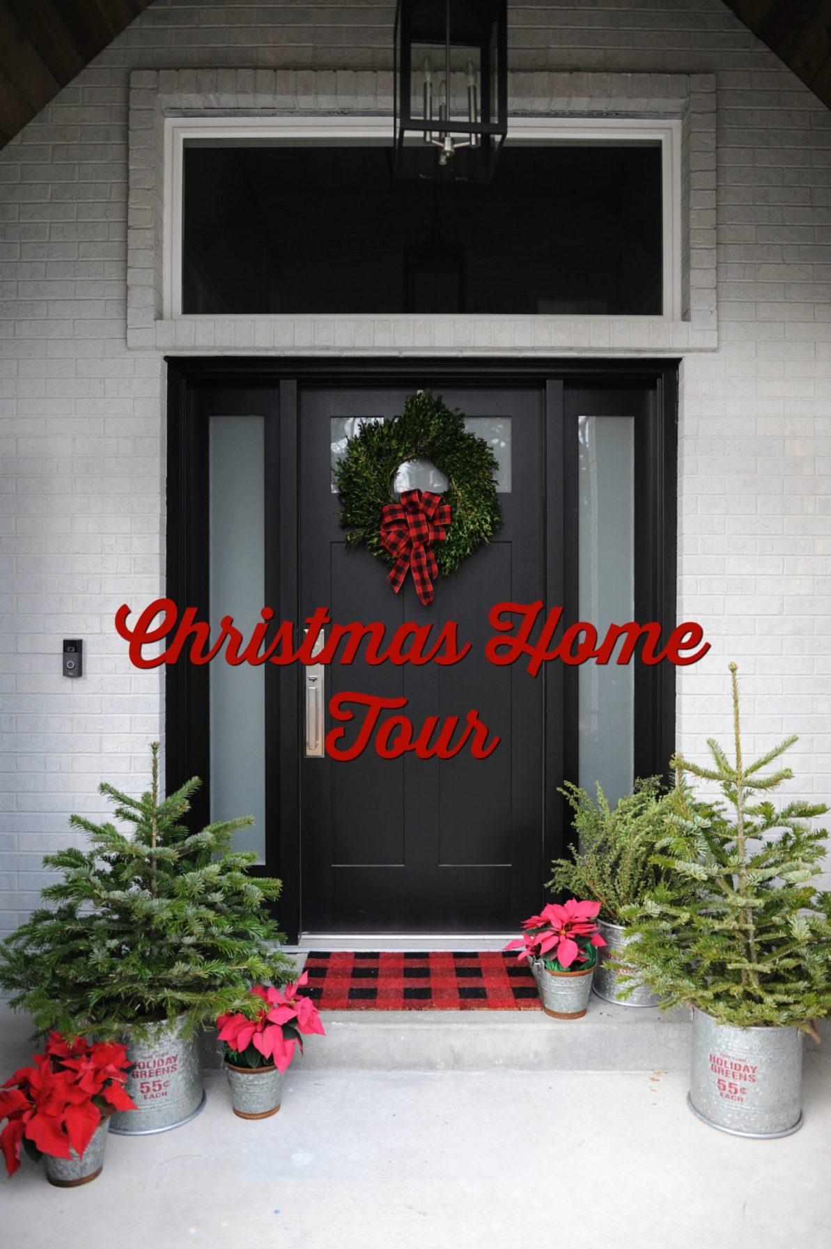 Christmas home tour text 2