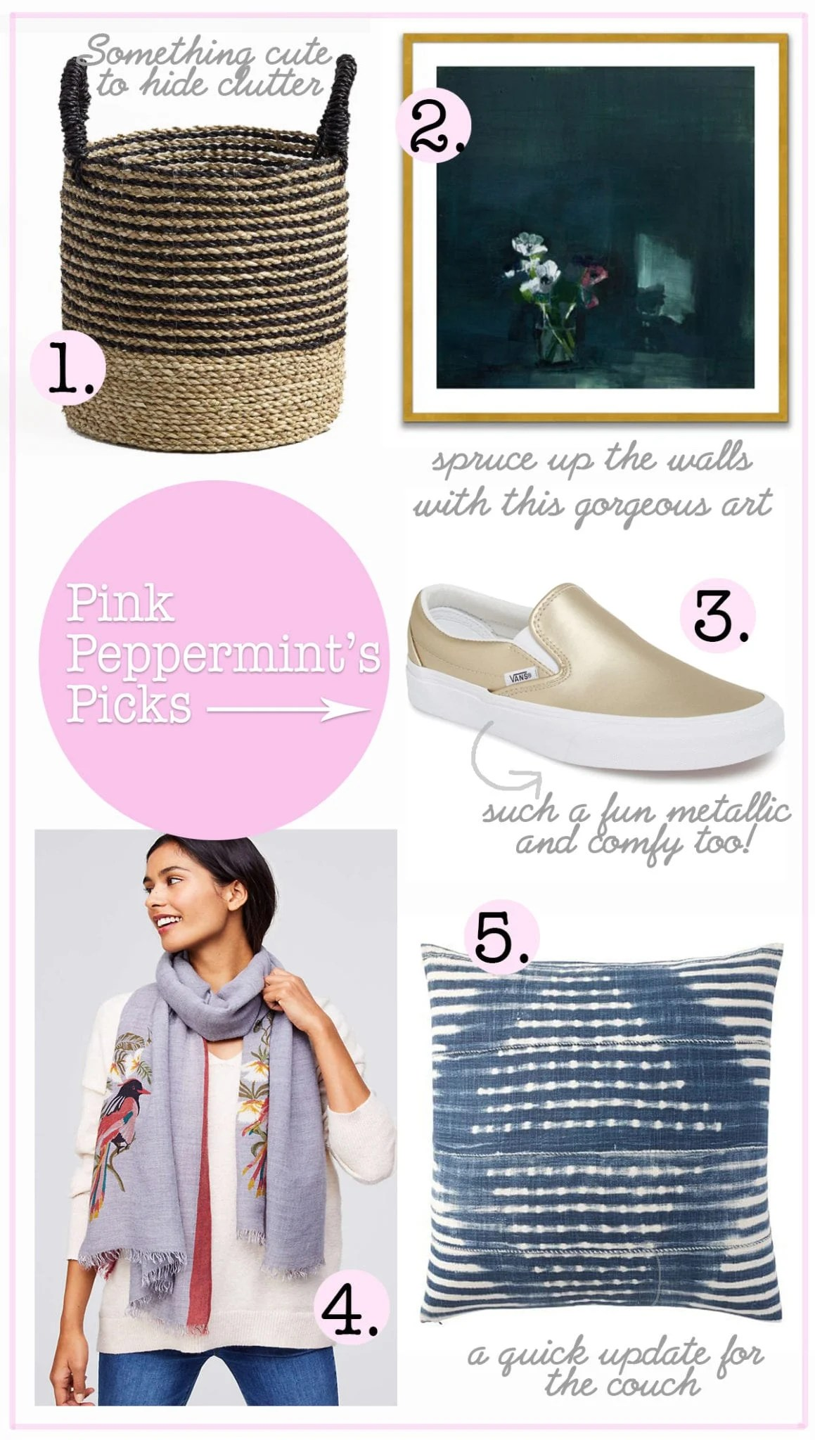 pink peppermint's picks