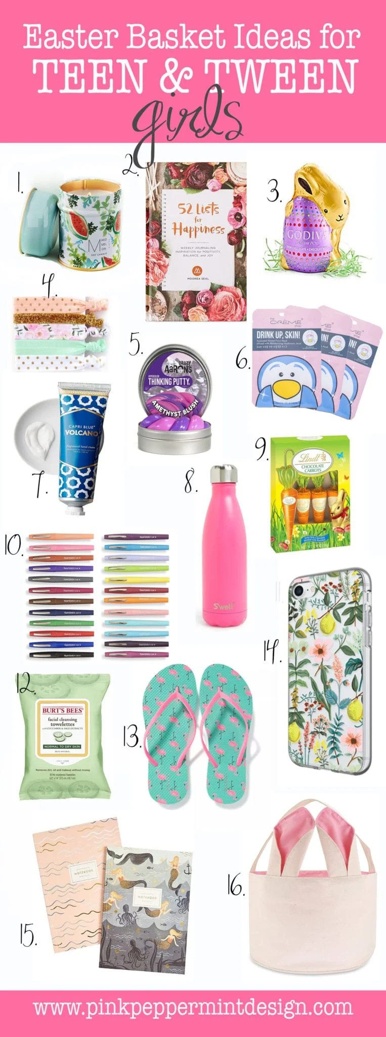 Easter Basket Ideas for Teenage Girl