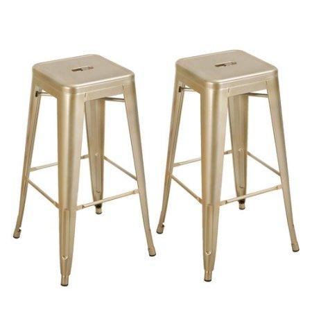 gold bar stools