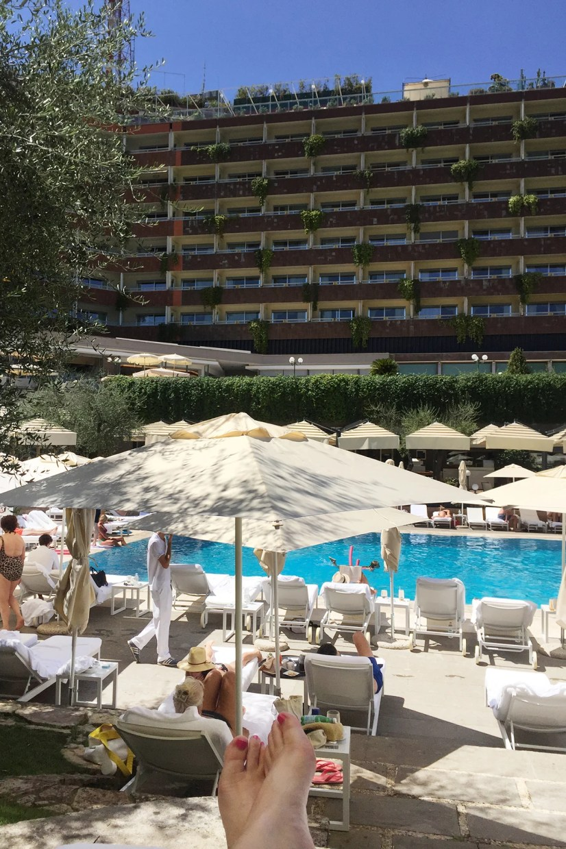 family hotels in Rome with outdoor pools