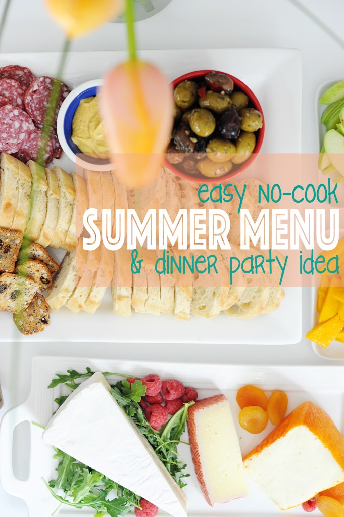 Best Summer Dinner Party Menu Idea