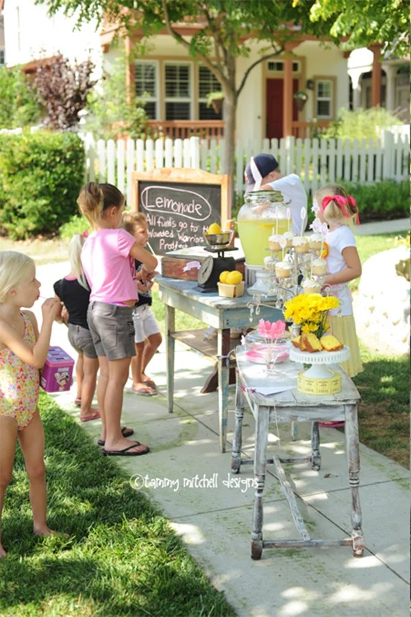 Lemonade Stand for Charity Ideas : The Wounded Warrior Project