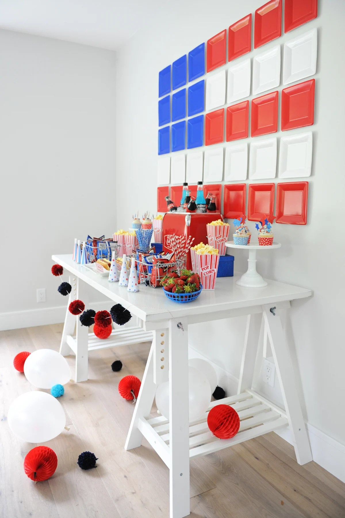 patriotic table decorations to make