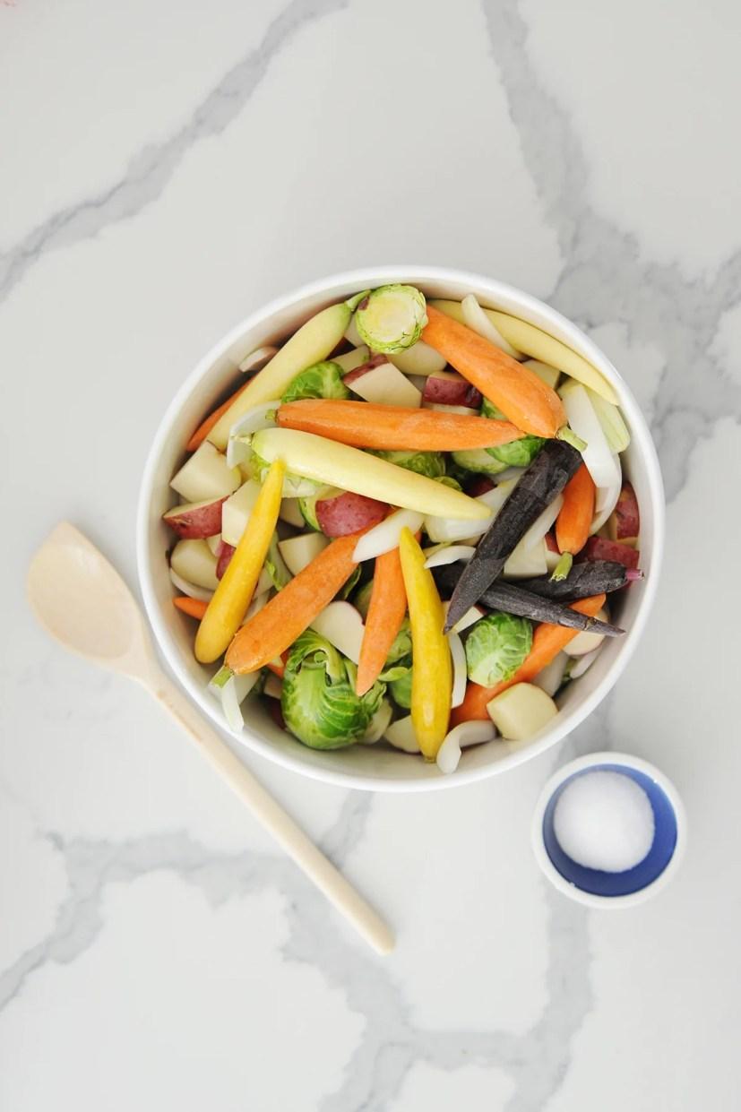 Roasted vegetables 3