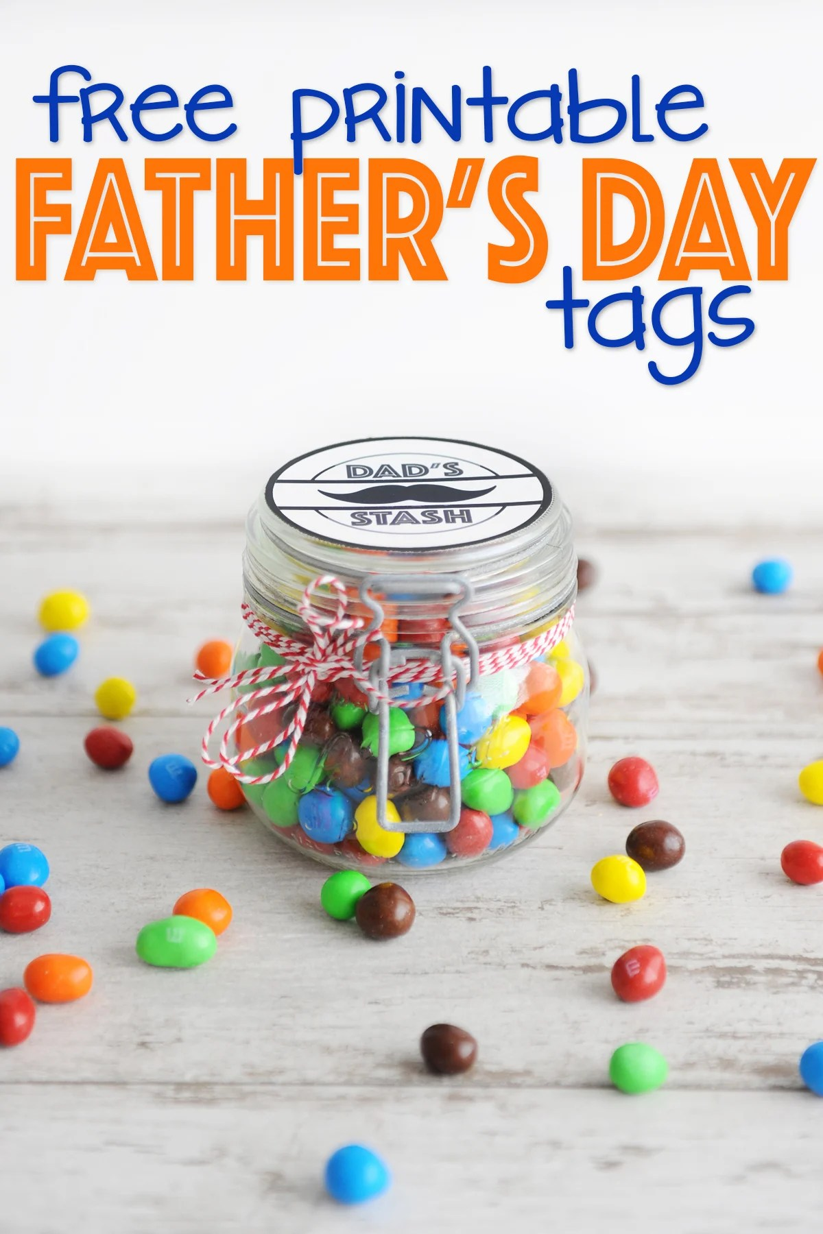 Free Father's Day Printable Tags : Dad's Stash