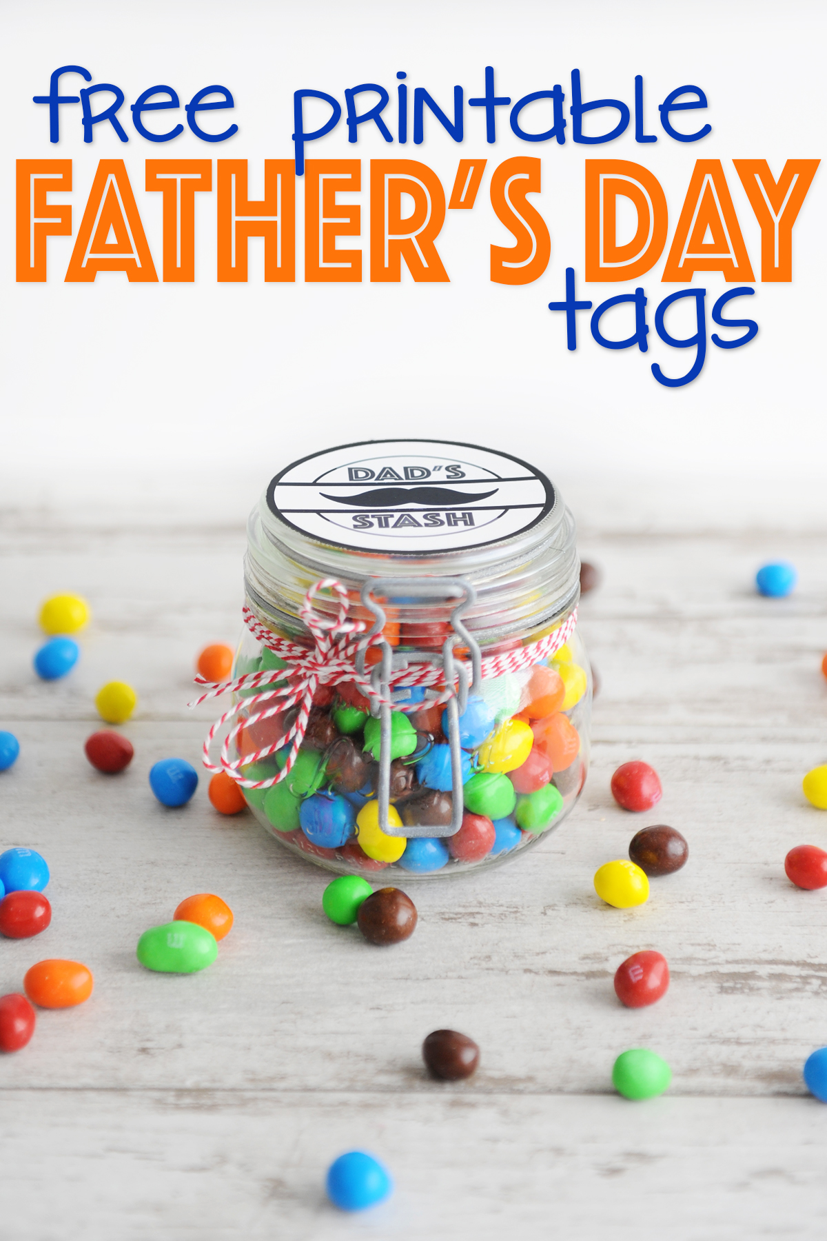 photograph about Free Printable Fathers Day Tags called Free of charge Fathers Working day Printable Tags : Dads Stash - Red
