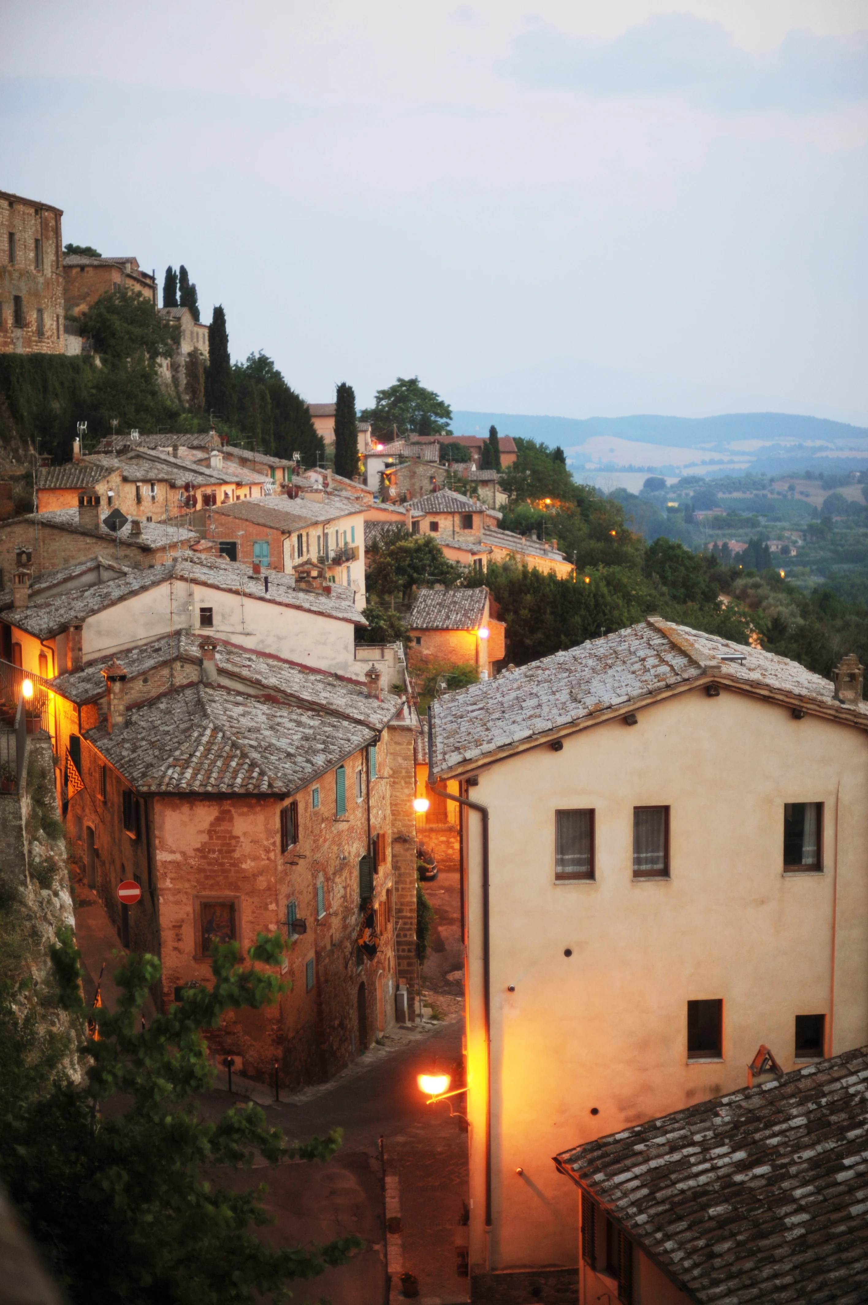 the best views in montepulciano