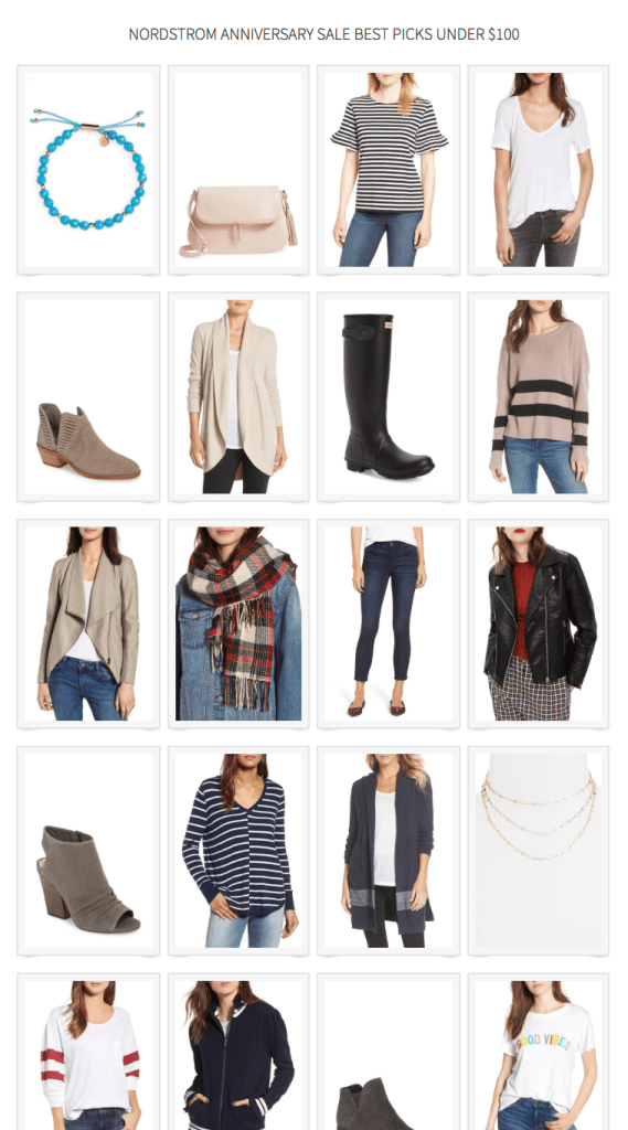 Nordstrom Anniversary Sale Best Picks Under $100