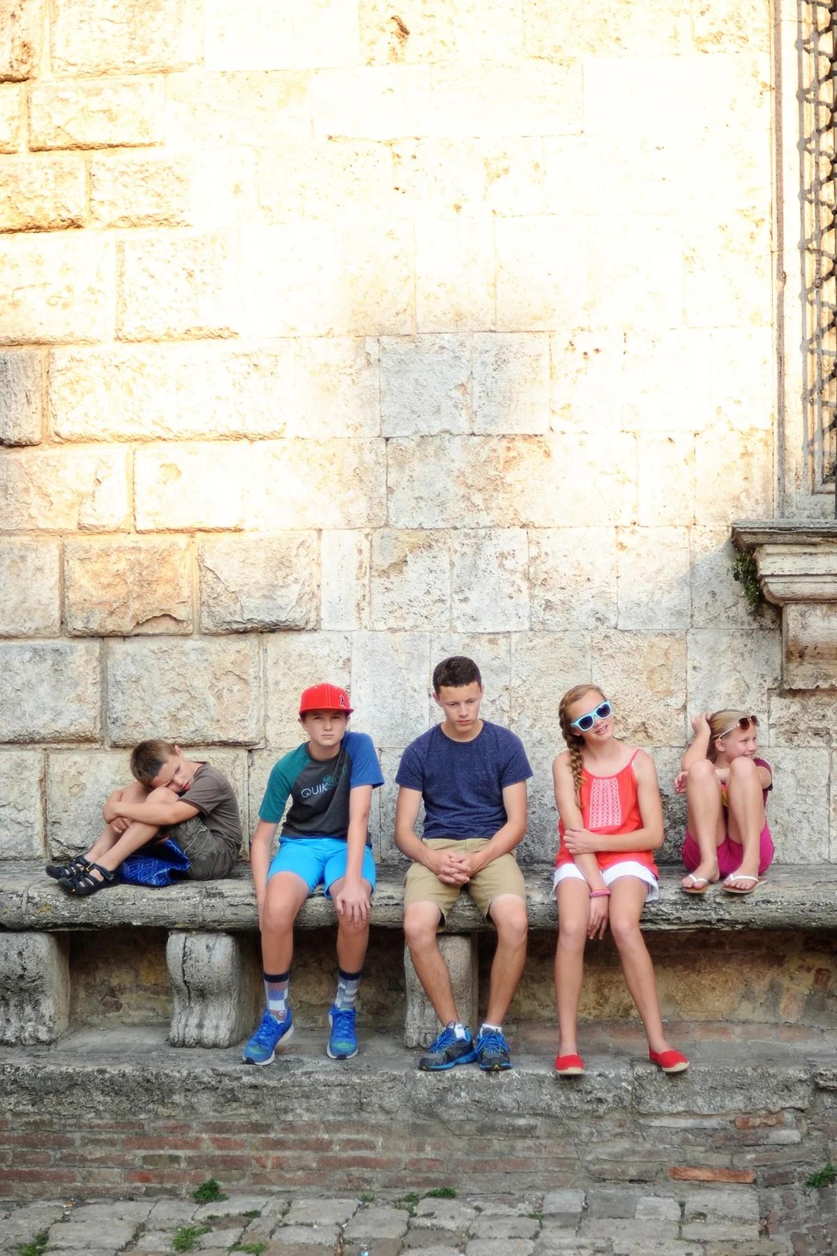 family holidays in tuscany