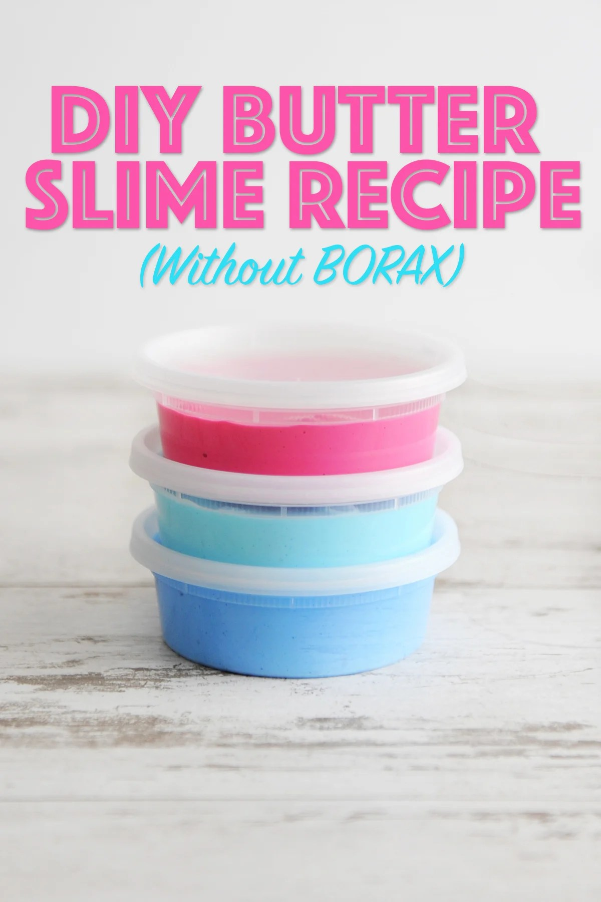photo about Slime Recipe Printable identify Perfect Butter Slime Recipe for Youngsters With no Borax