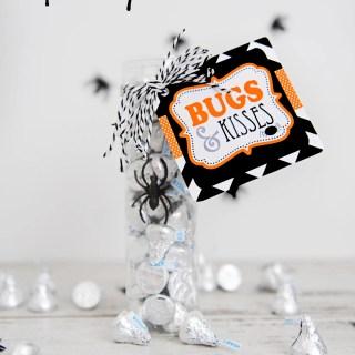 Bugs and kisses free printable