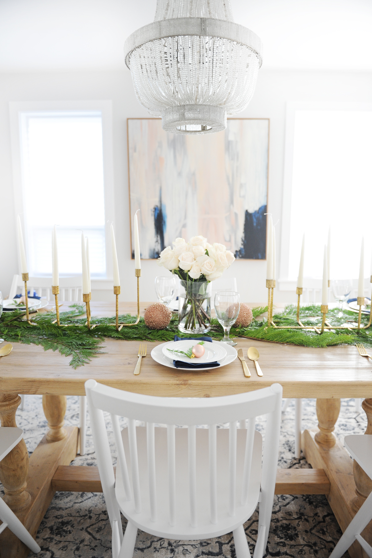 Christmas dining room decorating ideas