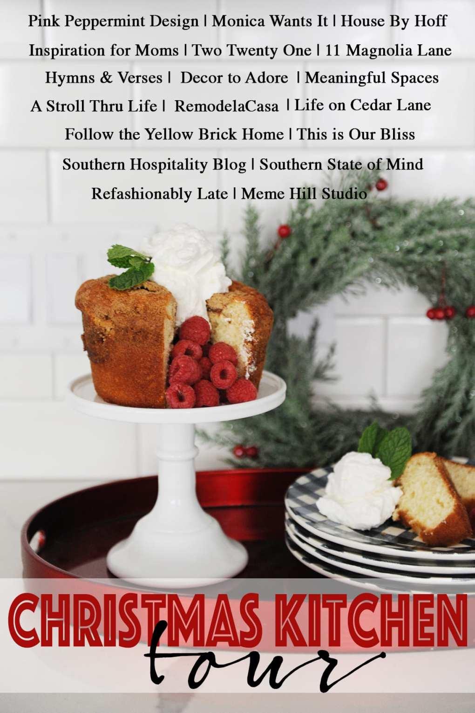 Christmas kitchen tour promo
