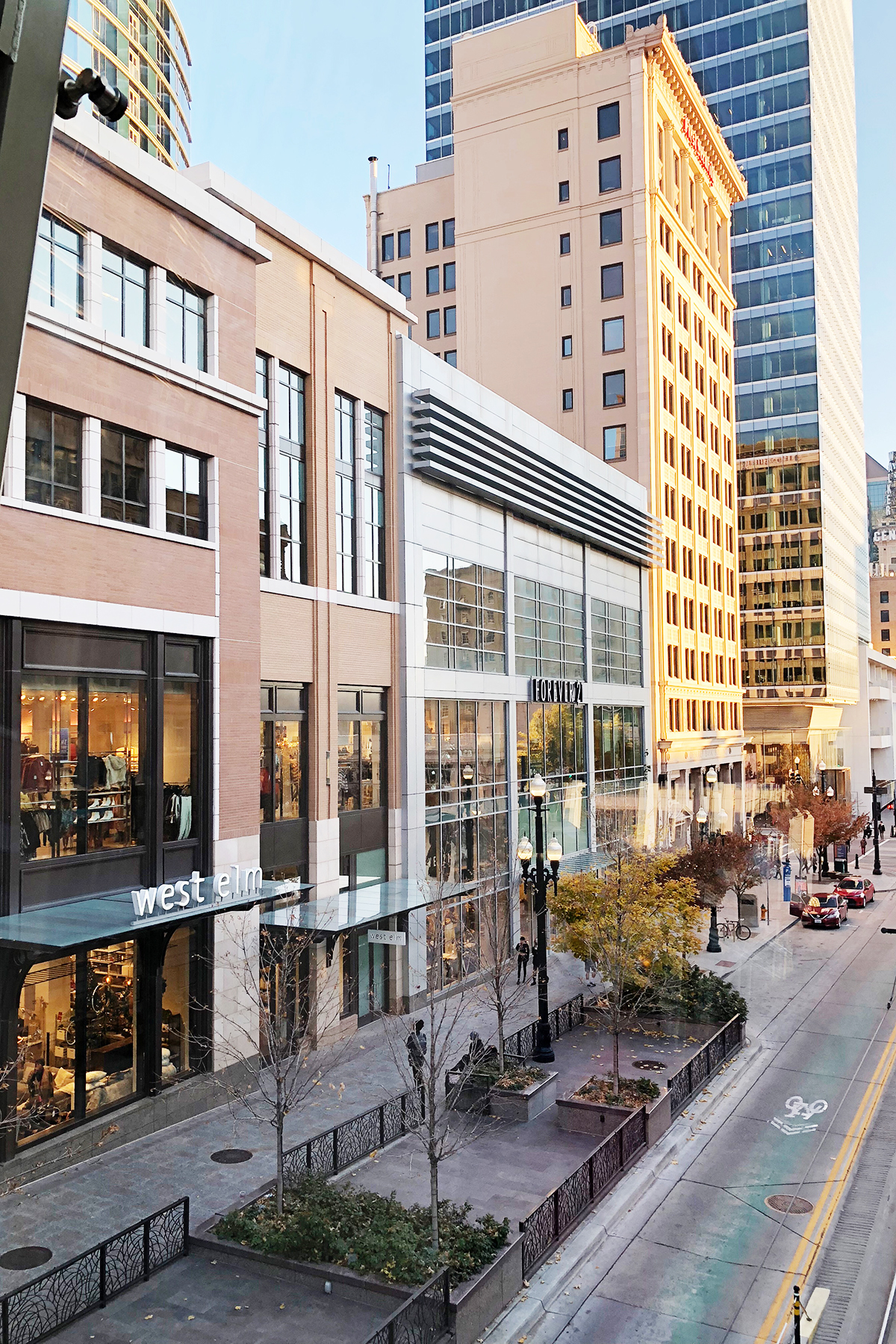 city creek shopping