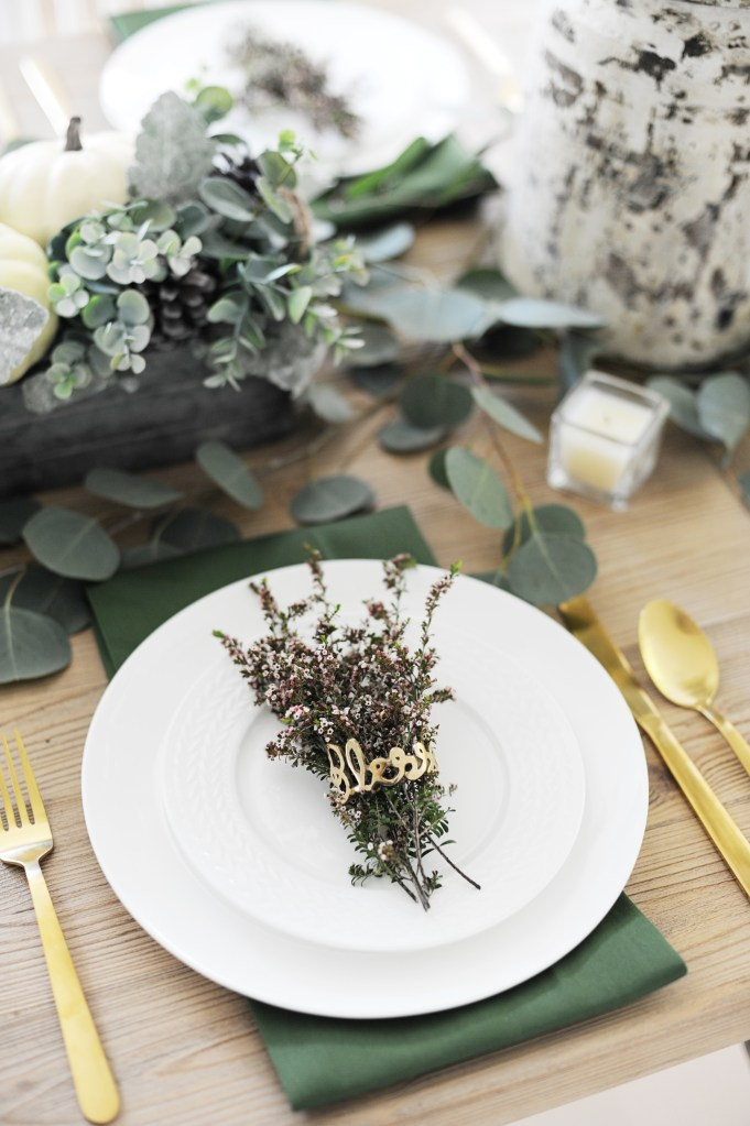 19 Beautiful Thanksgiving Table Setting Ideas