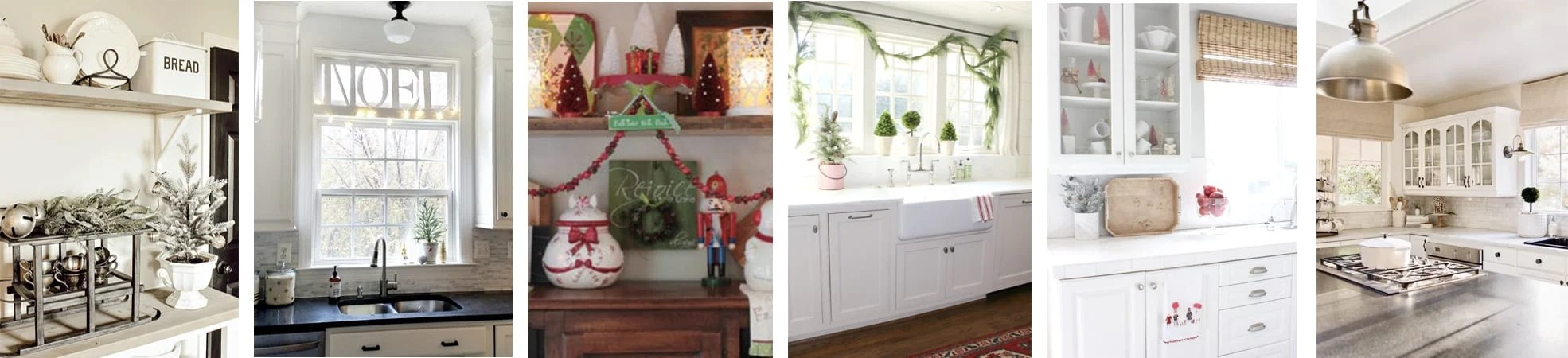 Tuesday christmas kitchen collage 2