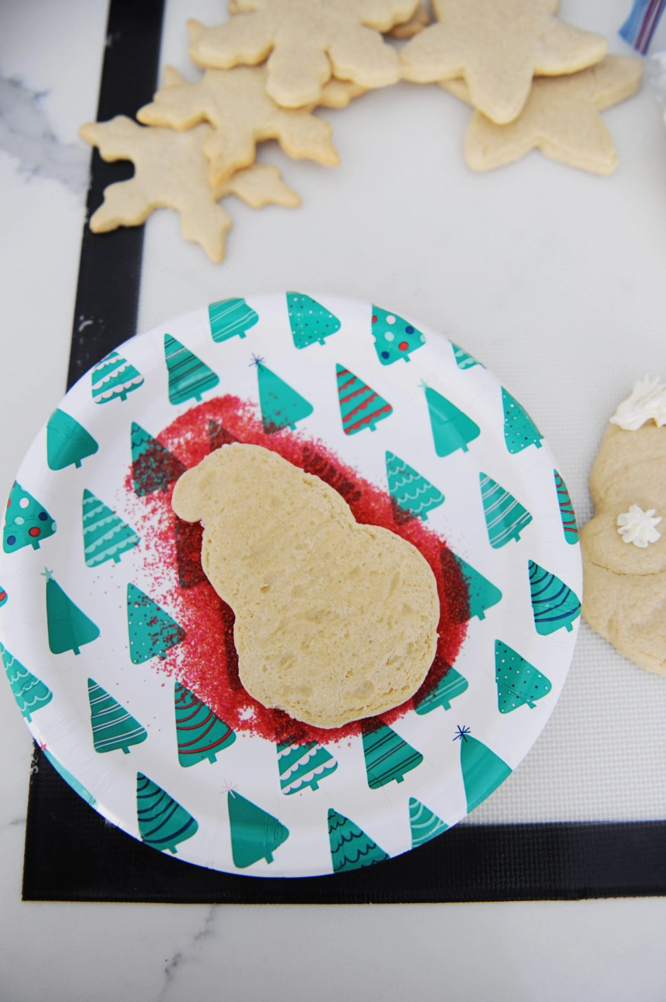 How to make diy santa cookies