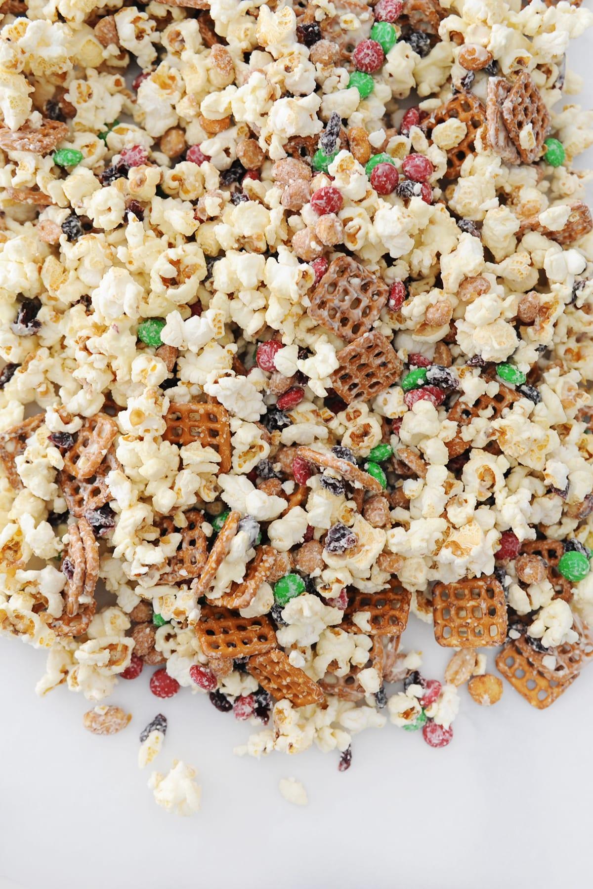 Popcorn snack mix ideas