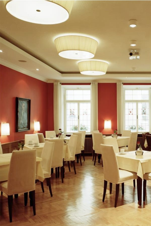 Breakfast room hotel elefant salzburg